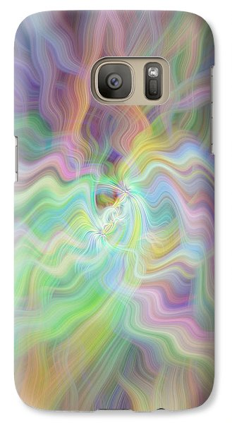 Galaxy Case featuring the photograph Pastels by Cherie Duran