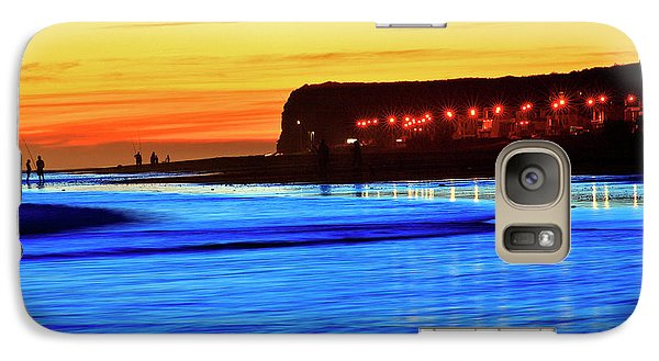Galaxy Case featuring the photograph Patagonia Beach. by Bernardo Galmarini