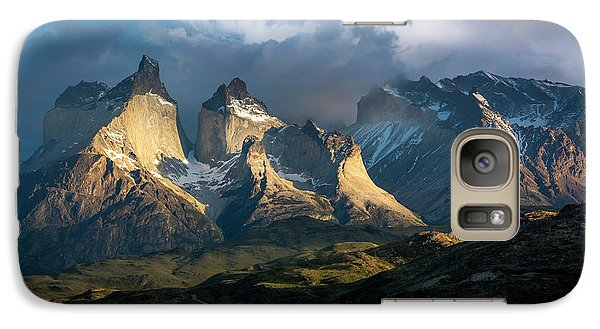 Galaxy Case featuring the photograph Patagonian Sunrise by Andrew Matwijec