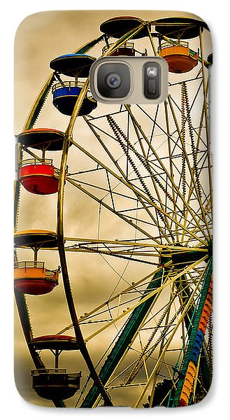 Wizard Galaxy S7 Case - Patch Of Blue by Bob Orsillo