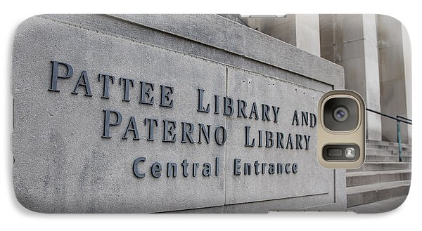 Paterno Library At Penn State  Galaxy S7 Case