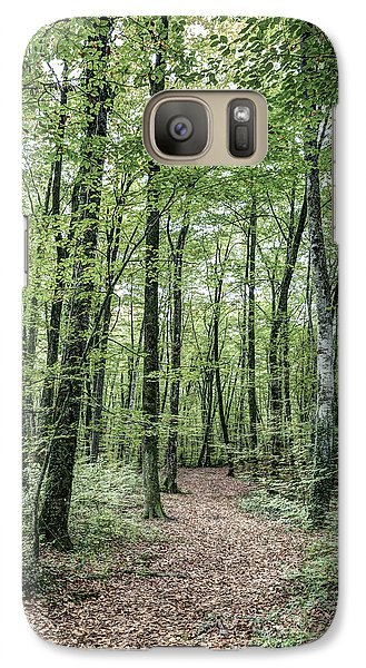 Path Between Trees Galaxy S7 Case