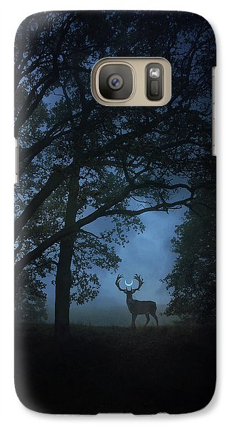 Magician Galaxy S7 Case - Path Of Shadows by Cambion Art