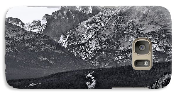 Galaxy Case featuring the photograph Path To Longs Peak by Dan Sproul