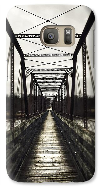 Galaxy Case featuring the photograph Path To Nowhere by Jame Hayes