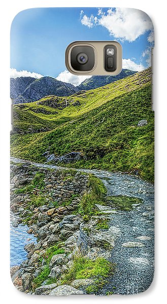 Galaxy Case featuring the photograph Path To Snowdon by Ian Mitchell