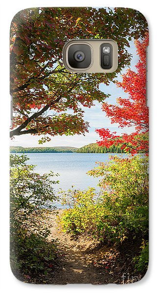 Galaxy Case featuring the photograph Path To The Lake by Elena Elisseeva