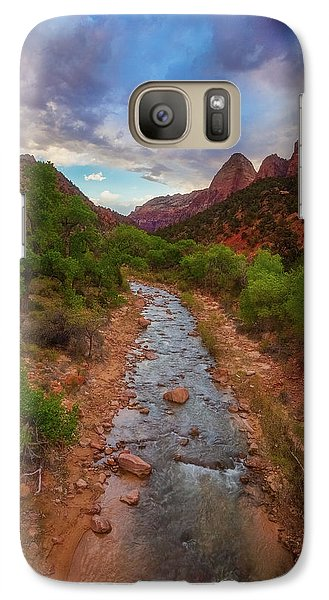Galaxy Case featuring the photograph Path To Zion by Darren White