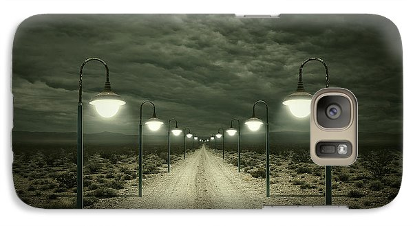 Desert Galaxy S7 Case - Path by Zoltan Toth