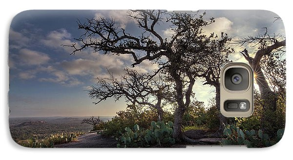 Pathway On Top Of Enchanted Rock Galaxy S7 Case