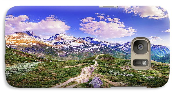 Galaxy Case featuring the photograph Pathway To A Valley by Dmytro Korol