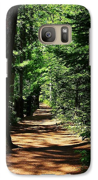 Galaxy Case featuring the photograph Pathway To Peacefulness by Bruce Bley