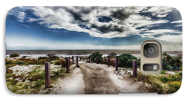 Galaxy Case featuring the photograph Pathway To The Beach by Douglas Barnard