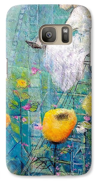 Galaxy Case featuring the painting Patience by Eleatta Diver