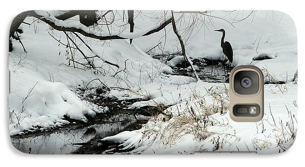 Galaxy Case featuring the photograph Patiently Waiting 2 by Paula Guttilla