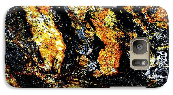 Galaxy Case featuring the photograph Patterns In Stone - 185 by Paul W Faust - Impressions of Light