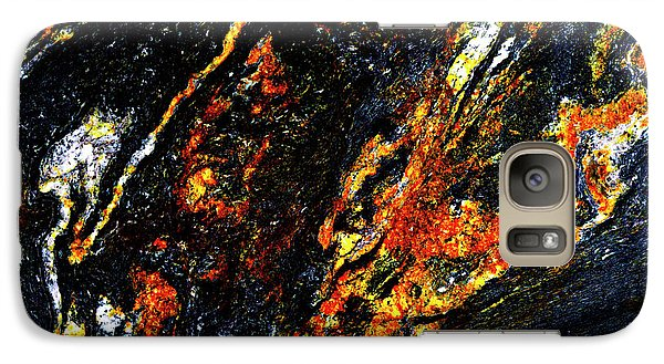Galaxy Case featuring the photograph Patterns In Stone - 188 by Paul W Faust - Impressions of Light
