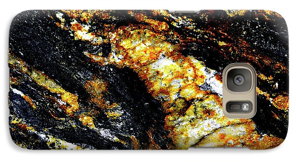Galaxy Case featuring the photograph Patterns In Stone - 190 by Paul W Faust - Impressions of Light