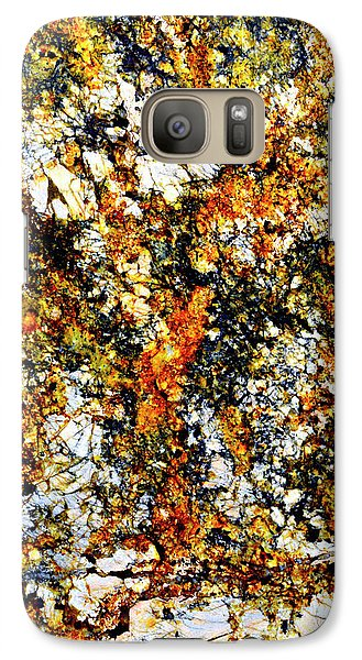 Galaxy Case featuring the photograph Patterns In Stone - 207 by Paul W Faust - Impressions of Light