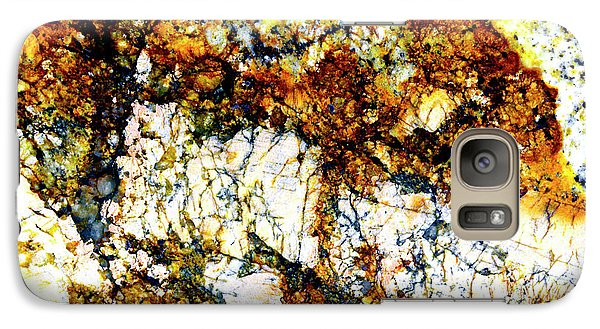 Galaxy Case featuring the photograph Patterns In Stone - 210 by Paul W Faust - Impressions of Light