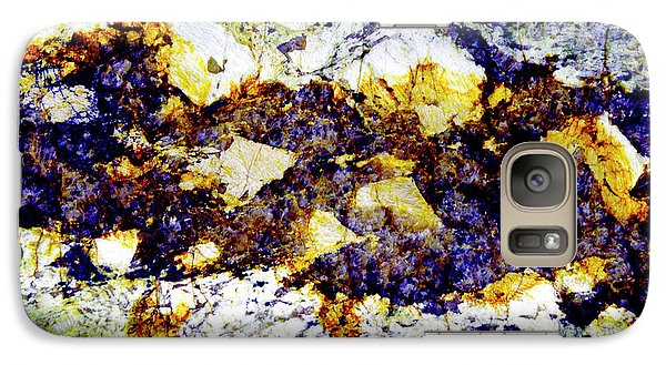 Galaxy Case featuring the photograph Patterns In Stone - 212 by Paul W Faust - Impressions of Light