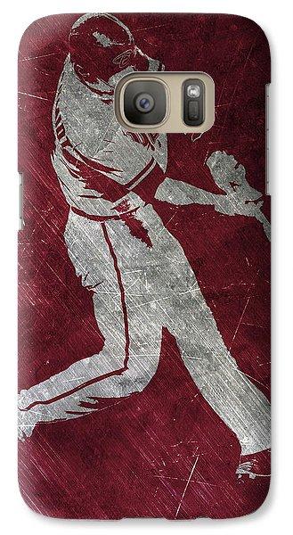 Paul Goldschmidt Arizona Diamondbacks Art Galaxy S7 Case