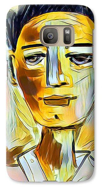 Galaxy Case featuring the digital art Pauls Portrait by Elaine Lanoue