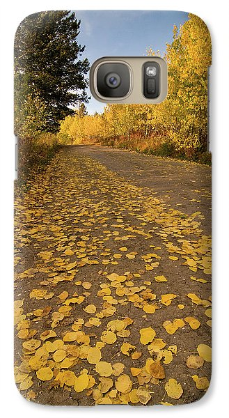 Galaxy Case featuring the photograph Paved In Gold by Steve Stuller