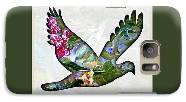 Dove Galaxy S7 Case - Peace For Peace by Mindy Newman