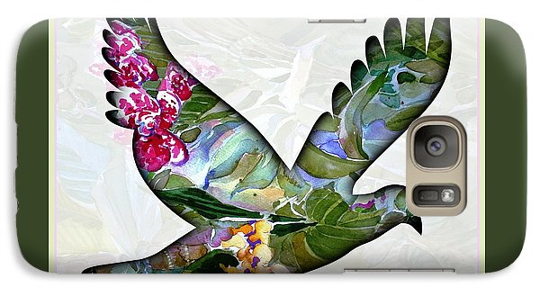 Peace For Peace Galaxy Case by Mindy Newman