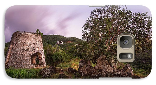 Galaxy S7 Case featuring the photograph Peace Hill Ruins by Adam Romanowicz
