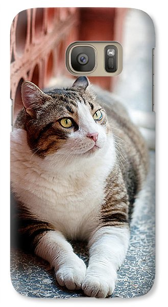 Galaxy Case featuring the photograph Peace by Laura Melis