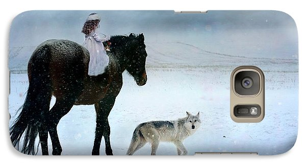 Galaxy Case featuring the digital art Peace On Earth by Dorota Kudyba