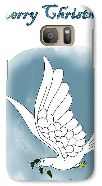 Galaxy Case featuring the digital art Peace Out by Lynn Rider