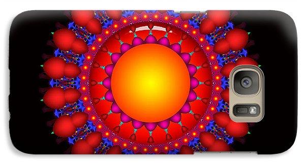 Galaxy Case featuring the digital art Peace by Robert Orinski