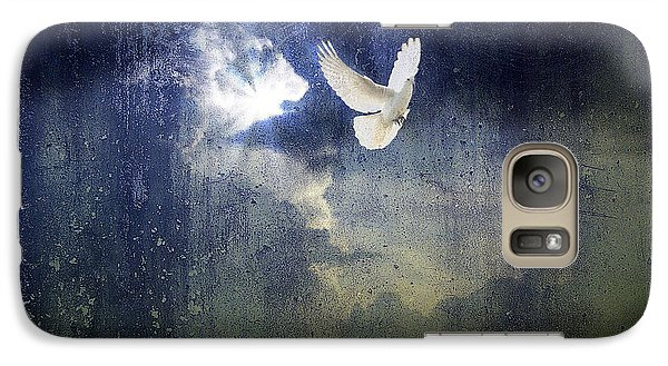 Galaxy Case featuring the photograph Peace by Yvonne Emerson AKA RavenSoul