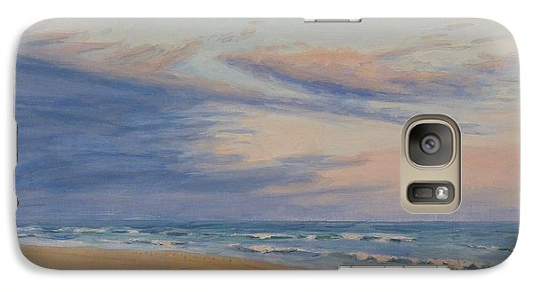 Galaxy Case featuring the painting Peaceful by Joe Bergholm