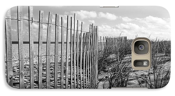 Galaxy Case featuring the photograph Peaceful Beach Scene by Denise Pohl
