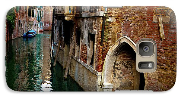 Galaxy Case featuring the photograph Peaceful Canal by Harry Spitz