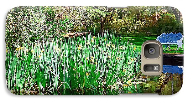 Galaxy Case featuring the photograph Peaceful by Donna Bentley