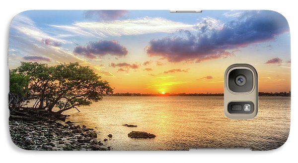 Galaxy Case featuring the photograph Peaceful Evening On The Waterway by Debra and Dave Vanderlaan