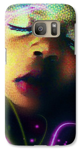 Galaxy Case featuring the photograph Peaceful by Iowan Stone-Flowers