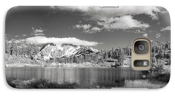 Galaxy Case featuring the photograph Peaceful Lake by Jon Glaser