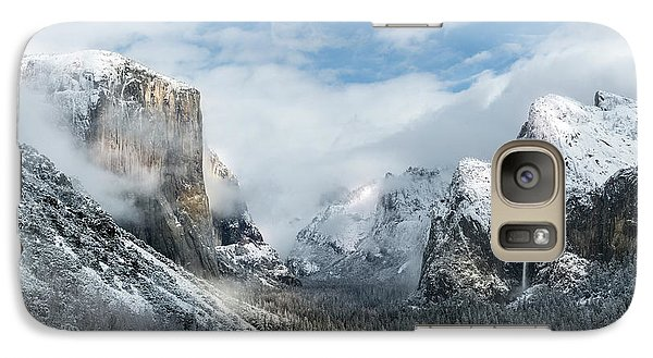 Galaxy Case featuring the photograph Peaceful Moments - Yosemite Valley by Sandra Bronstein
