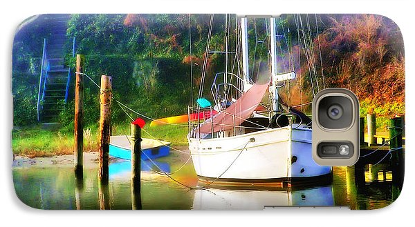 Galaxy Case featuring the photograph Peaceful Morning In The Cove by Brian Wallace
