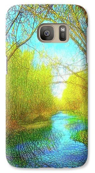 Peaceful River Spirit Galaxy S7 Case