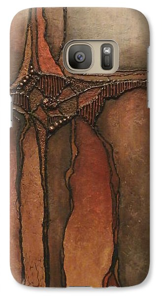 Galaxy Case featuring the painting Peacekeeper by Buck Buchheister