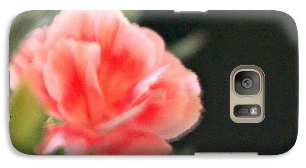 Galaxy Case featuring the photograph Peach Dream by Cathy Dee Janes