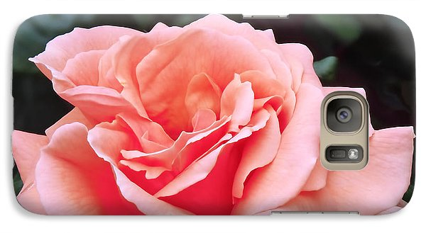 Peach Rose Galaxy S7 Case