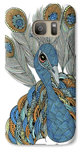 Peacock Galaxy S7 Case